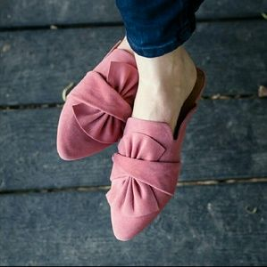 Shoes - Mauve Mules