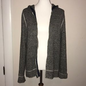 GAP Knitted Hooded Zip Up