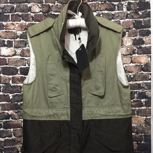 RAG & BONE NEW YORK Kinsley Vest Jacket Sz 2 NWT