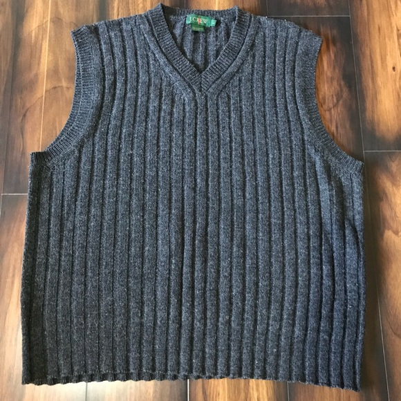 J. Crew - Men's J. Crew Lambswool Sweater Vest Size Large from ...