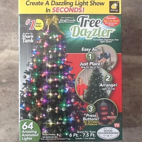Shark Tank Christmas Tree Lights.Tree Dazzler Christmas Lights Nwot Boutique