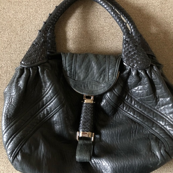 1ddfc2b286b Fendi Bags   Large Spy Bag In Black Nappa Leather   Poshmark