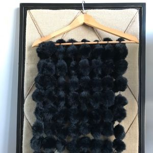 Accessories - Real Rabbit fur ball wrap