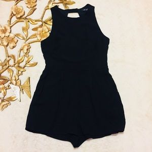 One ❤️ Clothing Black Romper Size M