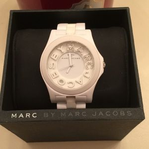 Marc Jacobs Acrylic Link Band Watch