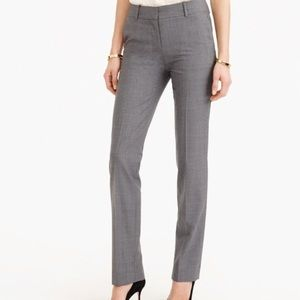 SOLD J.crew TALL Campbell trouser, Itlstretch wool