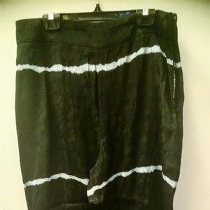 Zara Tie Dye Flowy Wide Leg Pants - Never Worn