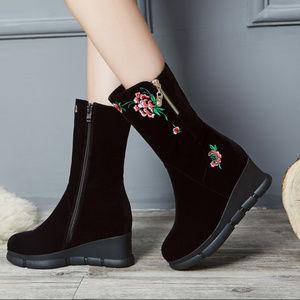 Black Friday Deals Santi Womens Blk Rancher Blowfish Womens Boots Booties