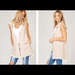 ❗️PRICE DROP Reversible Fur Vest