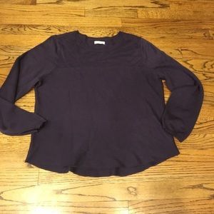 C & B deep purple sweater, EUC