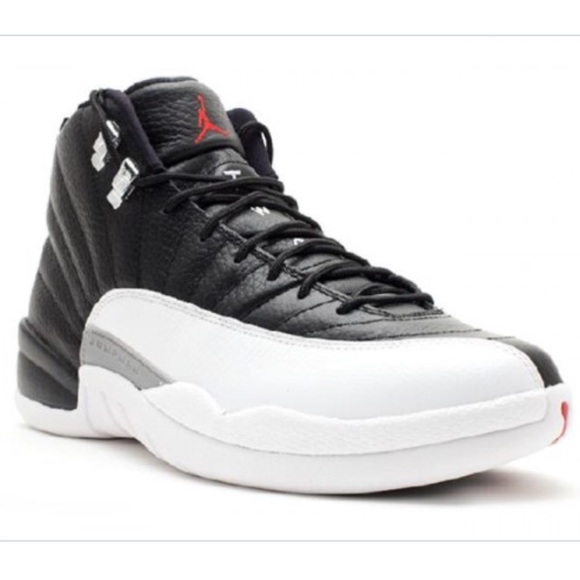 new style f619c 5a3e4 Black and White Jordan 12s.