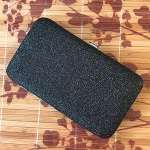 Mini hard case clutch H&M