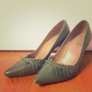 Anthropologie Olive High Heels