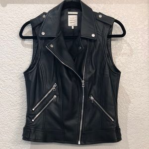 Zara Leather Vest