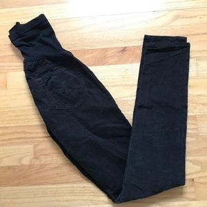 Ag Adriano Goldschmied Pants - AG maternity skinny cords A pea in the pod
