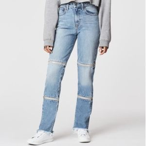 LF/ Carmar Horizontal Double Zip off Jean
