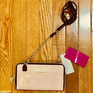 Betsey Johnson crossbody (wallet on a string)