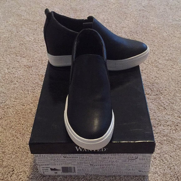 Wanted Stowe Wedge Sneaker | Poshmark