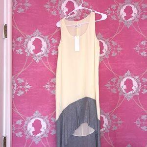 bcbg high low maxi dress