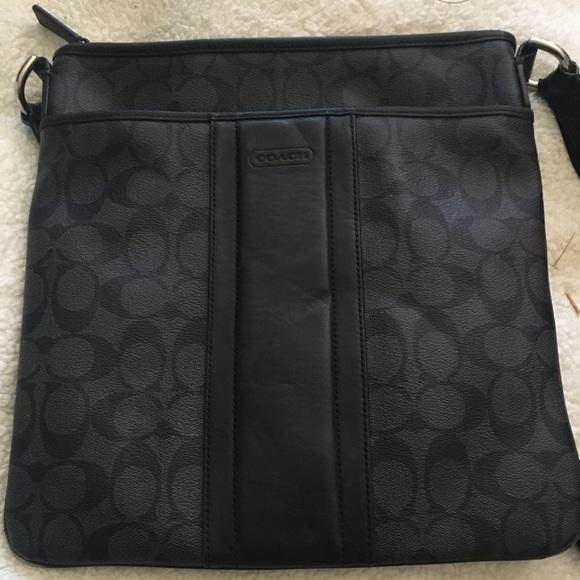 720b9ce481 Coach Handbags - Heritage Signature Small Zip Top Crossbody