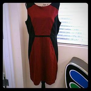 Nicole dress by nicole miller Sz XL 02285P3SO