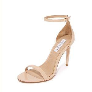 Rachel Zoe Ema Nude Classic Ankle Strap Heels