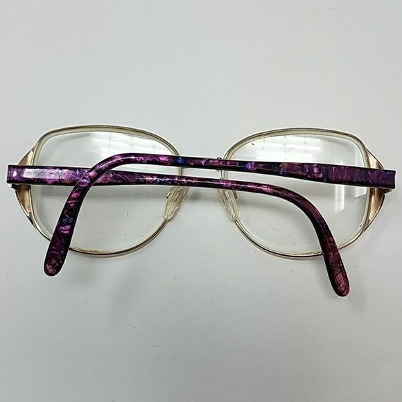 Safilo Accessories Vintage Purple And Gold Frames Ks42 Poshmark