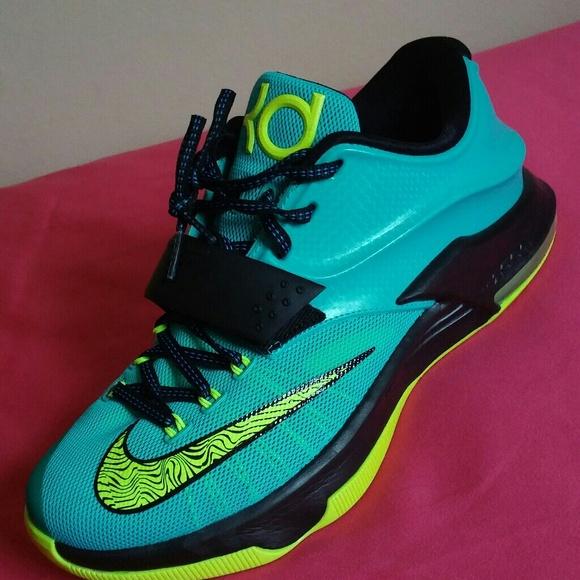 Nike Kd 7 Uprsng Hyper Jade Sz 8.5 MEN   10 WOMEN 3d0df88cb