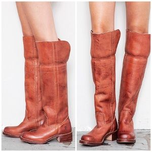Frye Over The Knee Campus Boots