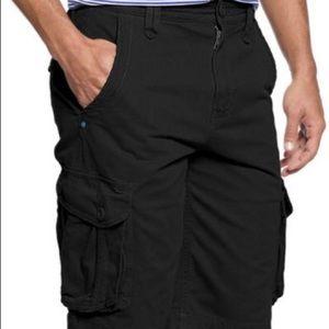 🎄Christmas sale🎄Faded glory black cargo shorts