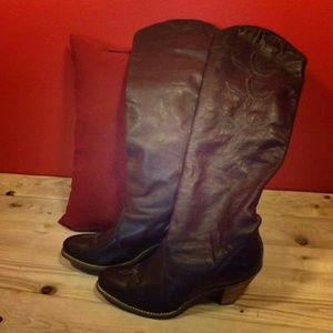 capezio brown boots for Women