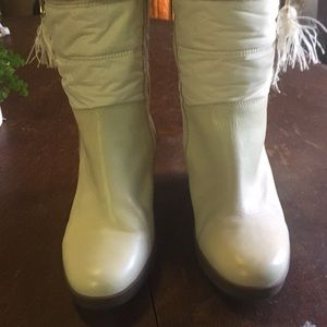 UGG Shoes | Australia Leona Wedge Snow Boots | Poshmark