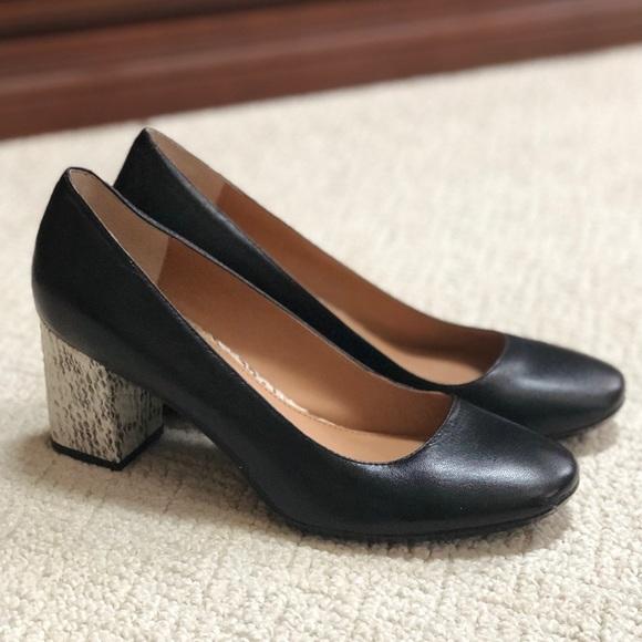e6878b08e6 Calvin Klein Shoes - Calvin Klein Cirilla Snake Heel Pump
