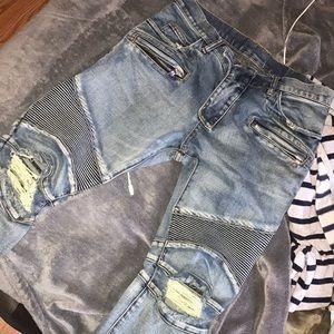 Size 30 balmain jeans