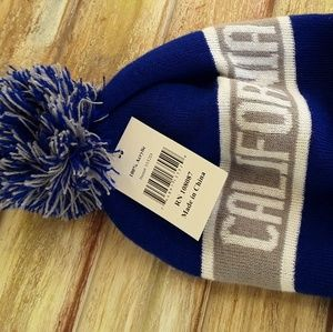 Other - California Republic winter hat/beanie w/pom