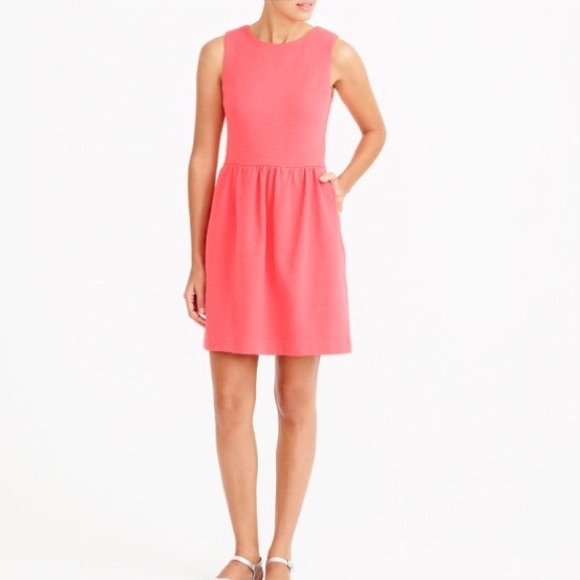 J. Crew Dresses & Skirts - J. Crew pink coral daybreaker dress