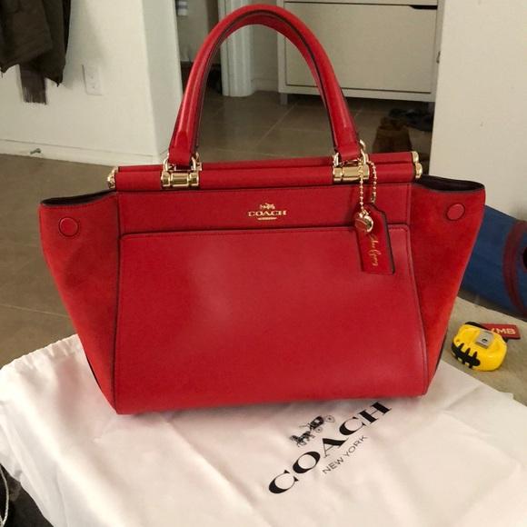 965d1416e2 Coach x Selena Gomez Handbags - Selena Gomez x Coach Grace bag in red