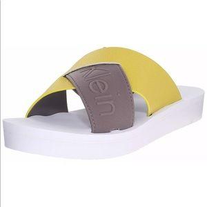 Cute! & Cool! 😎Calvin Klein Sandals/ Slides💕
