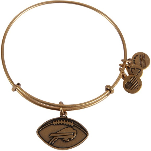 d9537636a7d Alex and Ani Jewelry - Alex and Ani Buffalo Bills Football Charm Bangle