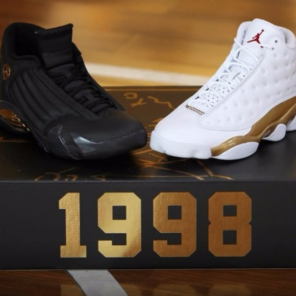 fce62c3f14d Nike Shoes | Air Jordan Retro 13 14 Dmp Gold Pack | Poshmark