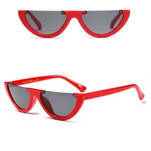 Red Vintage Sunglasses