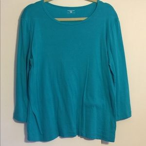 Jones New York 3/4 Sleeve Shirt