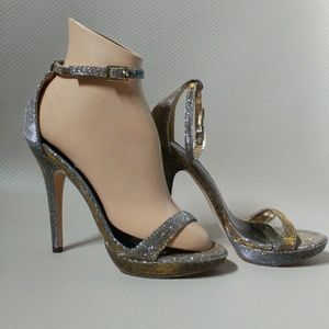 Michael Antonio Iridescent Evening Shoes Size 6
