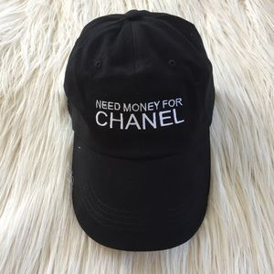 Brand new need money for chanel Embroidered hat