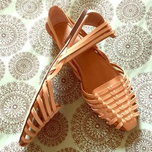 NWT J.Crew leather sandals
