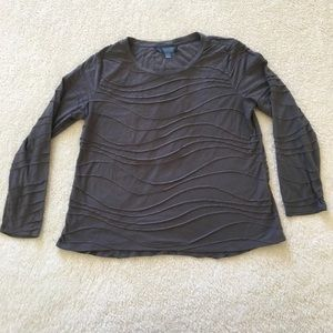 Women's Simply Vera Vera Wang Textured Top XL