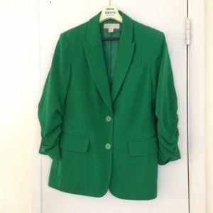 Micharl Kors Green Blazer