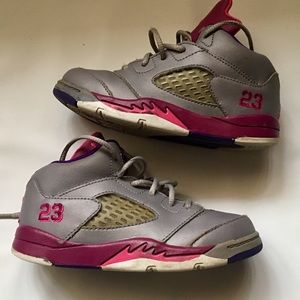 c2b3dea3557f ... top quality jordan shoes nike air jordan v 5 retro sz 9c toddler girls  6f09a ac3e0