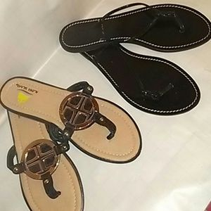 Sandals flip flops J.Crew size 8