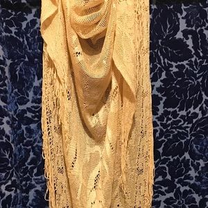 VTG ❤️ Stunning silk embroidery (scarf - shawl)